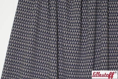 Mokka Jacquard lillestoff: Triangle - 160 cm kaufen im Makerist Materialshop