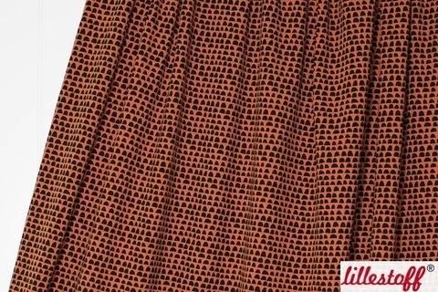 Brauner Bio-Jersey lillestoff: Cerado Kombi - 150 cm kaufen im Makerist Materialshop