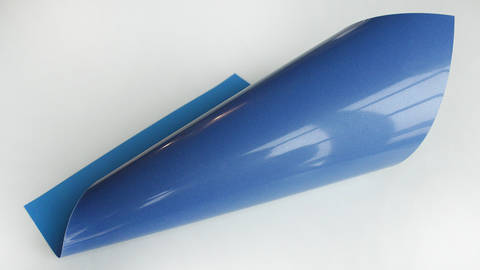Upper Flockfolie zum Plotten - königsblau kaufen im Makerist Materialshop