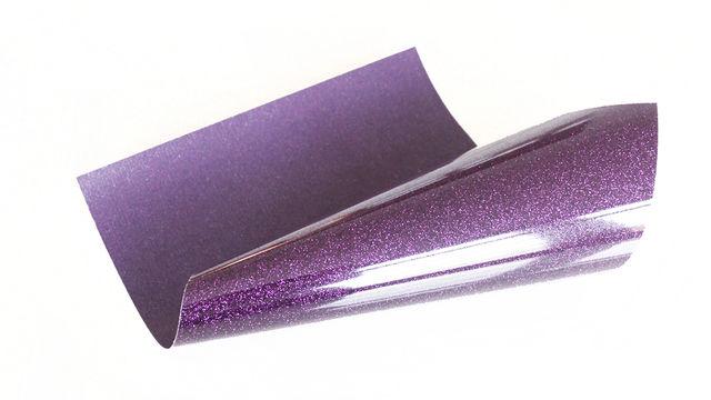 Acheter Flex brillant pailleté pour plotter - aubergine - Plotters et accessoires dans la mercerie Makerist