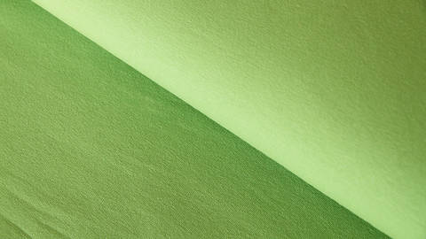 Kiwifarbener Sweatstoff: Eike - 155 cm kaufen im Makerist Materialshop