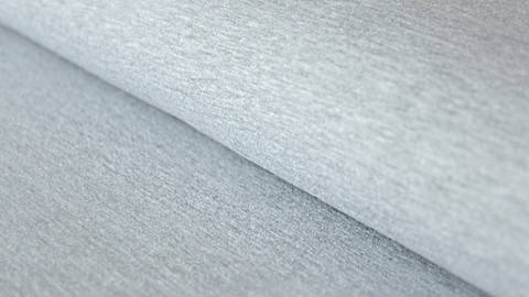 Hellgrau melierter Sweatstoff: Eike - 155 cm kaufen im Makerist Materialshop