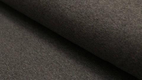 Sweatstoff dunkelgrau meliert: Eike - 155 cm kaufen im Makerist Materialshop