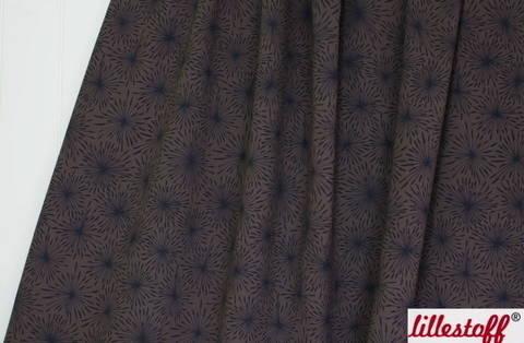 Brauner Bio-Jersey lillestoff: Eispusteblume - 160 cm kaufen im Makerist Materialshop