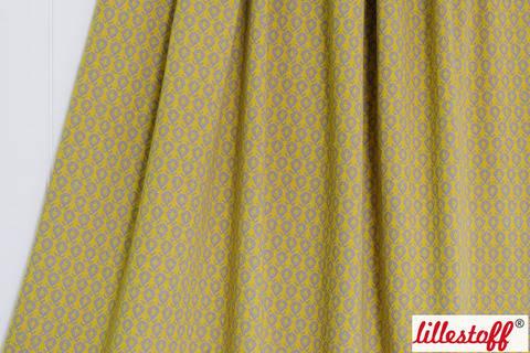 Gelber Jacquard lillestoff: Lime Fruit - 160 cm kaufen im Makerist Materialshop