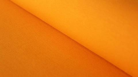 Orangener Bündchenstoff: Heike - 100 cm kaufen im Makerist Materialshop