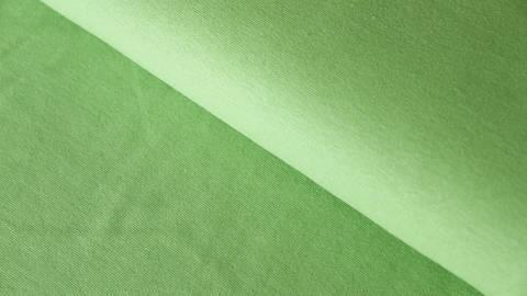 Kiwigrüner Bündchenstoff: Heike - 100 cm kaufen im Makerist Materialshop