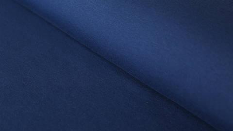 Dunkelblauer Bündchenstoff: Heike - 100 cm kaufen im Makerist Materialshop