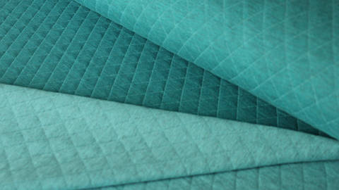 Petrol/ Türkis melierter Stepsweat: Silke  - 155 cm kaufen im Makerist Materialshop
