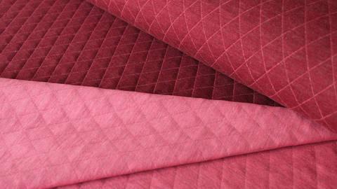 Bordeaux/ Pink melierter Stepsweat: Silke - 155 cm kaufen im Makerist Materialshop