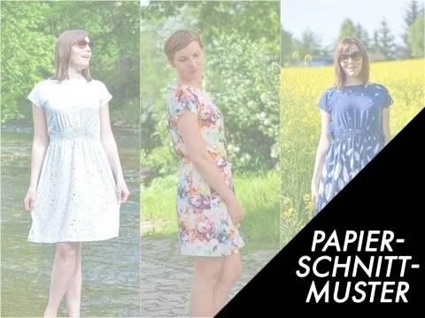 Gedrucktes Schnittmuster für: Sommerkleid Federleicht Gr. 32 bis 46 in 3 Längen - Schnittmuster und Anleitung kaufen im Makerist Materialshop