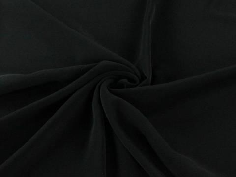 Schwarzer Polyester Krepp kaufen im Makerist Materialshop