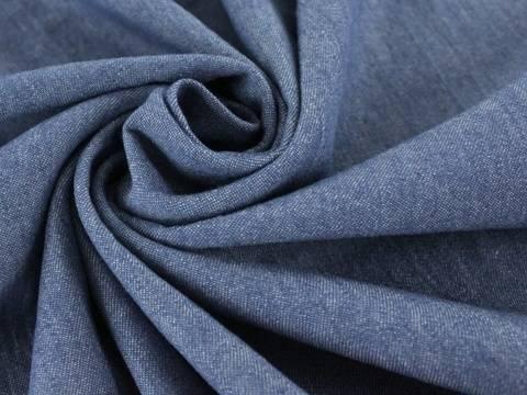 Mittelblauer Hemdenjeansstoff - 150 cm  kaufen im Makerist Materialshop