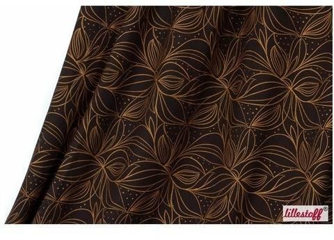 Kupferfarbener Bio-Jersey lillestoff: Organic Lines - 160 cm kaufen im Makerist Materialshop