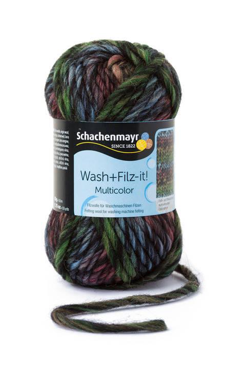 W + F Multicolor von Schachenmayr - 00254 schwarz kaufen im Makerist Materialshop