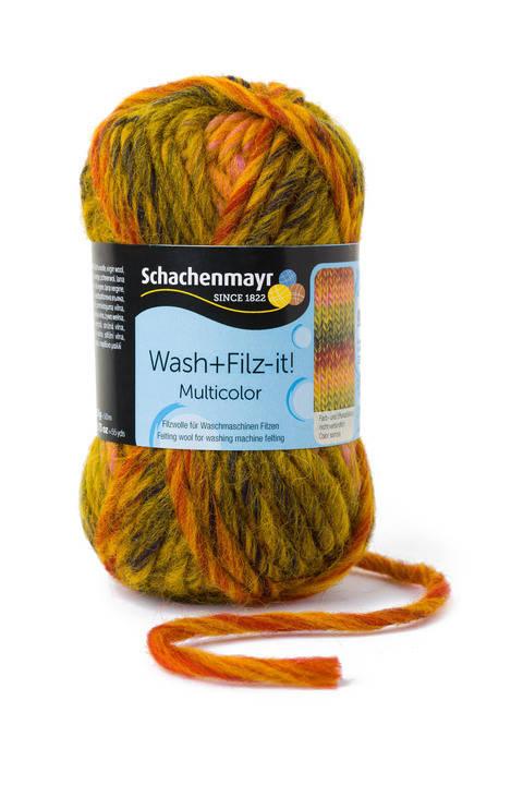 W + F Multicolor von Schachenmayr - 00255 curry kaufen im Makerist Materialshop