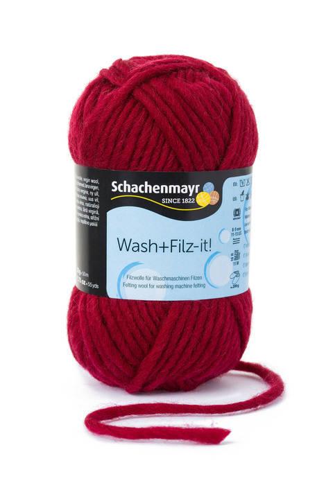 W + F Uni von Schachenmayr - 00006 burgund kaufen im Makerist Materialshop