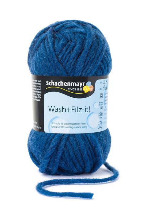 W + F Uni von Schachenmayr - 00025 indigo kaufen im Makerist Materialshop