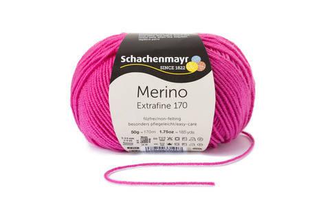 Merino Extrafine 170 von Schachenmayr - 00037 pink kaufen im Makerist Materialshop