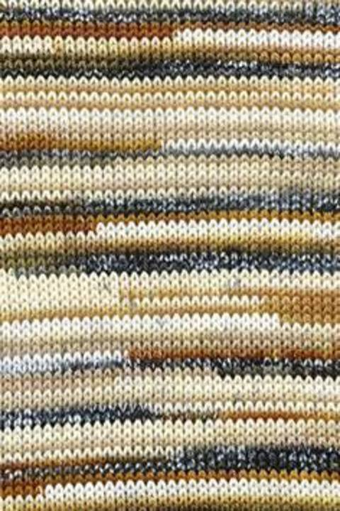 TISSA 3/3 COLOR - BEIGE/SCHLAMM BEDRUCKT kaufen im Makerist Materialshop