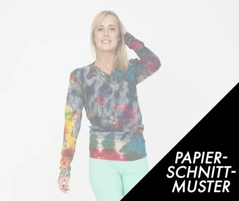 Gedrucktes Schnittmuster für: Shirt Lola kaufen im Makerist Materialshop