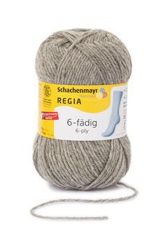 Regia 6-fädig 50g von Schachenmayr - 00033 flanell meliert - Wolle und Garn kaufen im Makerist Materialshop