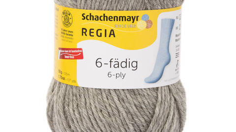 Regia 6-fädig 50g von Schachenmayr - 00033 flanell meliert kaufen im Makerist Materialshop