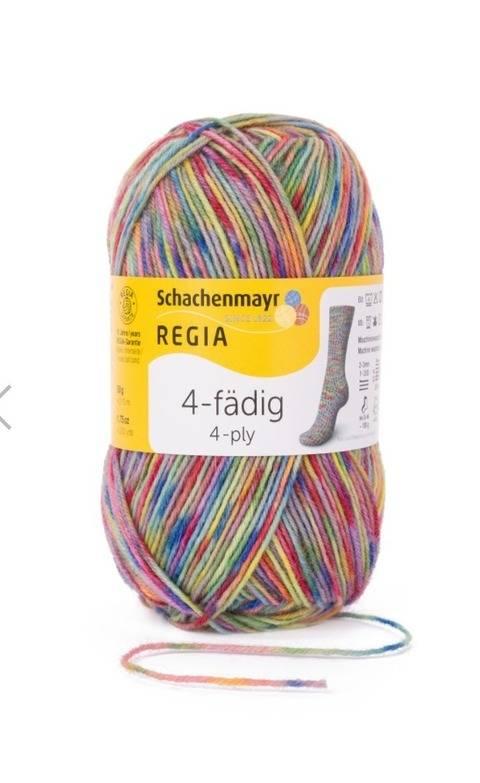 Regia 4-fädig Color 50g - 05560 mosaik istanbul kaufen im Makerist Materialshop