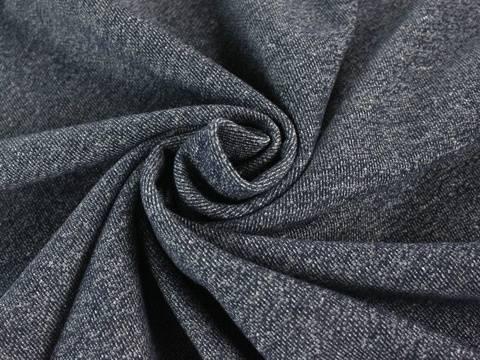 Marineblauer Sweatstoff: Strick - 140 cm kaufen im Makerist Materialshop