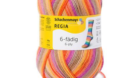 Regia 6-fädig Color von Schachenmayer - 150g kaufen im Makerist Materialshop