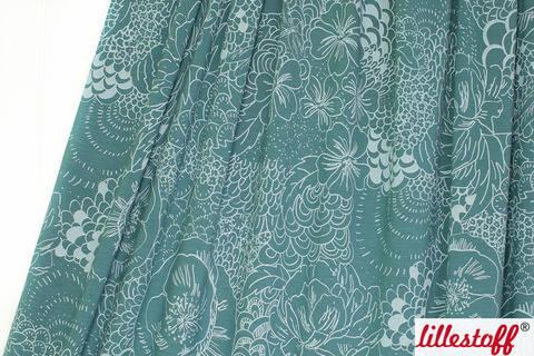 Türkisfarbener Modalstoff: Sommerfeel Arctic - 150 cm kaufen im Makerist Materialshop