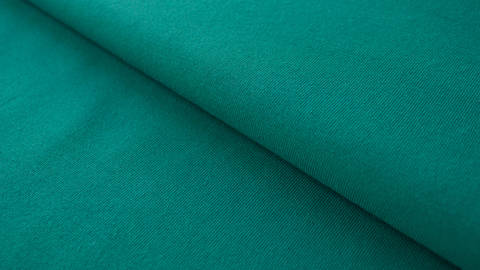 Petrolfarbener Baumwolljersey: Emerald - 160 cm kaufen im Makerist Materialshop