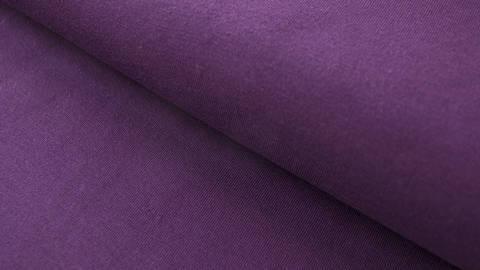 Dunkellila Baumwolljersey: Dark Purple - 160 cm kaufen im Makerist Materialshop