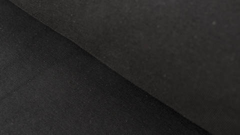 Schwarzer Baumwolljersey: Black - 160 cm kaufen im Makerist Materialshop