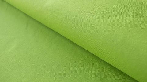 Grüner Baumwolljersey: Lime - 160 cm kaufen im Makerist Materialshop