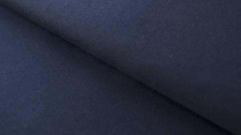 Nachtblauer Baumwolljersey: Dark Navy - 160 cm kaufen im Makerist Materialshop