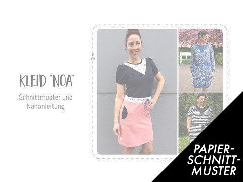 "Gedrucktes Schnittmuster für: Schnittmuster Kleid ""Noa"" - Schnittmuster kaufen im Makerist Materialshop"