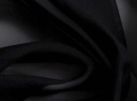 Schwarzer Chiffon - 145 cm kaufen im Makerist Materialshop