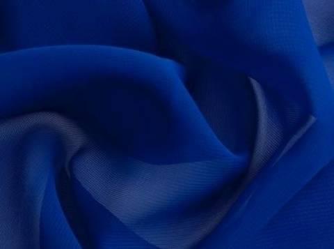 Blauer Chiffon - 145 cm kaufen im Makerist Materialshop