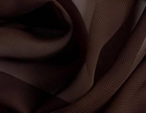 Brauner Chiffon - 145 cm kaufen im Makerist Materialshop