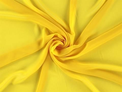 Gelber Chiffon - 145 cm kaufen im Makerist Materialshop
