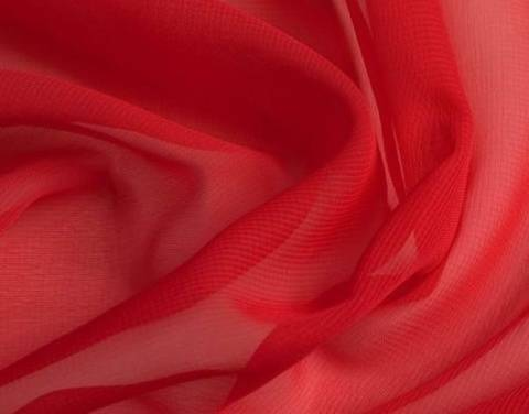Roter Chiffon - 145 cm kaufen im Makerist Materialshop