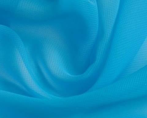 Türkisfarbener Chiffon - 145 cm kaufen im Makerist Materialshop