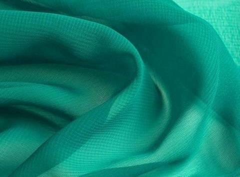 Hellpetrolfarbener Chiffon - 145 cm kaufen im Makerist Materialshop