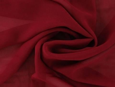 Bordeauxfarbener Chiffon - 145 cm kaufen im Makerist Materialshop