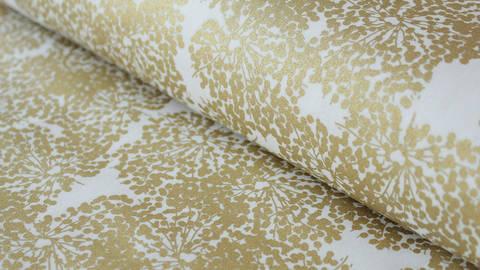 Weißer Baumwollstoff: Allium - 140 cm kaufen im Makerist Materialshop