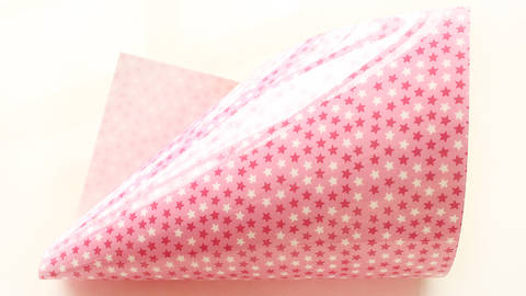 Flockfolie Lila Lotta Design - stars pink kaufen im Makerist Materialshop