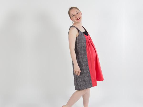 Gedrucktes Schnittmuster für: Kleid ANNA /Schnittmuster ...