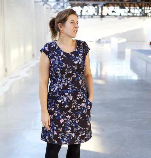 Acheter Patron pochette robe femme Louisa par Compagnie M. dans la mercerie Makerist