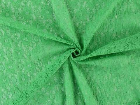 Grüner Spitzenstoff: Blumenblüte - 145 cm kaufen im Makerist Materialshop